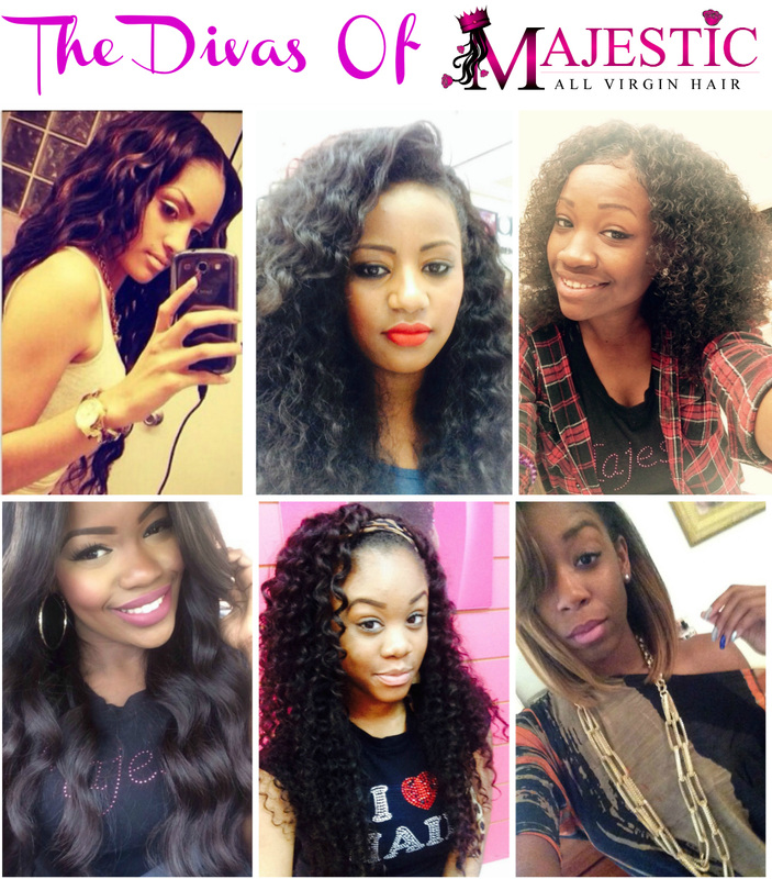 Armed Ready To Serve: Majestic All Virgin Hair